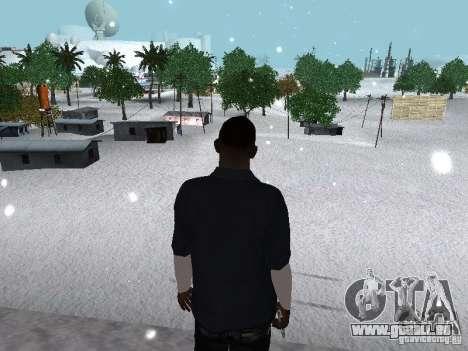 Snow MOD 2012-2013 für GTA San Andreas achten Screenshot