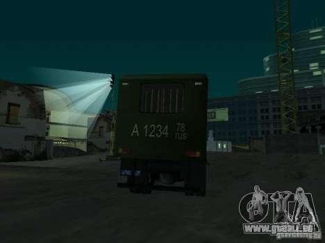 GAZ 3309 Paddy wagon für GTA San Andreas Seitenansicht
