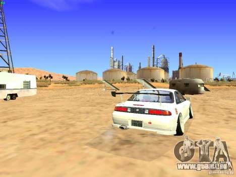 Nissan Silvia S14 JDM pour GTA San Andreas vue de droite