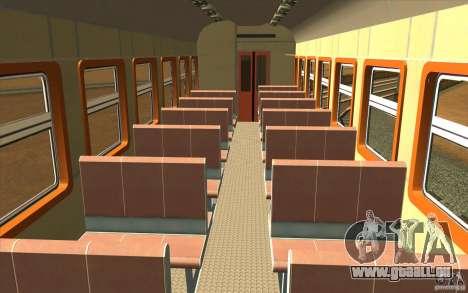 ÈD9M-0132A pour GTA San Andreas vue intérieure