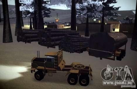 Hayes EQ 142 pour GTA San Andreas moteur