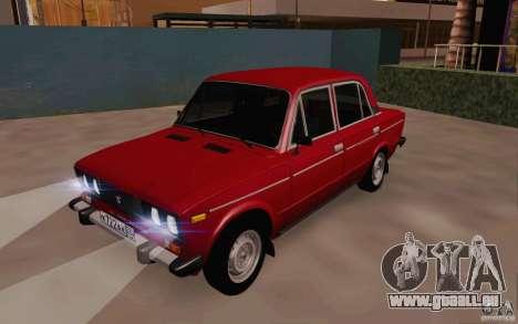 VAZ 2106 Drain pour GTA San Andreas laissé vue
