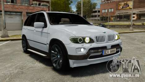 BMW X5 4.8IS BAKU pour GTA 4