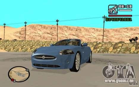 Jaguar XK Convertable pour GTA San Andreas
