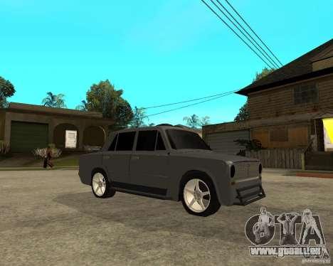 VAZ 2101 schwer tuning für GTA San Andreas rechten Ansicht
