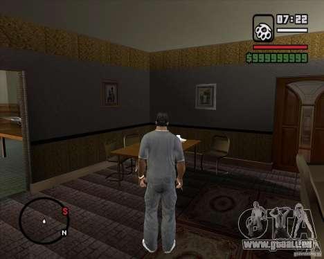 Ersetzen das ganze Haus-CJeâ für GTA San Andreas neunten Screenshot