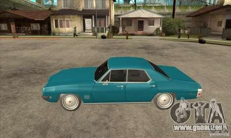 Pontiac LeMans pour GTA San Andreas laissé vue