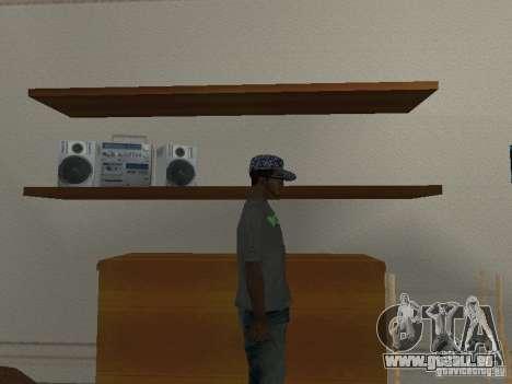 Noize Mc Tee für GTA San Andreas dritten Screenshot