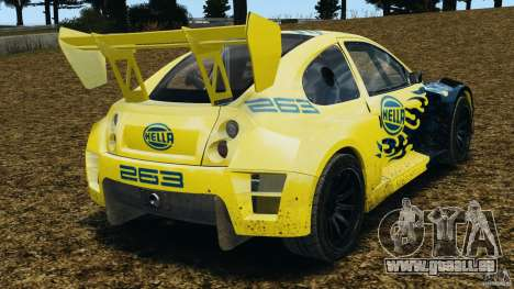 Colin McRae Hella Rallycross pour GTA 4 Vue arrière de la gauche