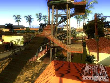 Base de Grove Street pour GTA San Andreas dixième écran