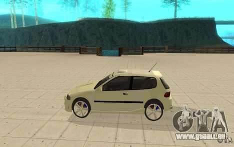 Honda Civic 1992 pour GTA San Andreas laissé vue