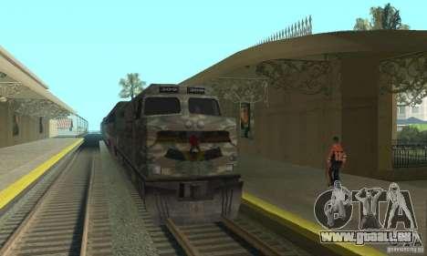 Train de Camo pour GTA San Andreas laissé vue