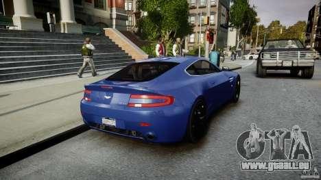 Aston Martin V8 Vantage V1.0 pour GTA 4 est un côté
