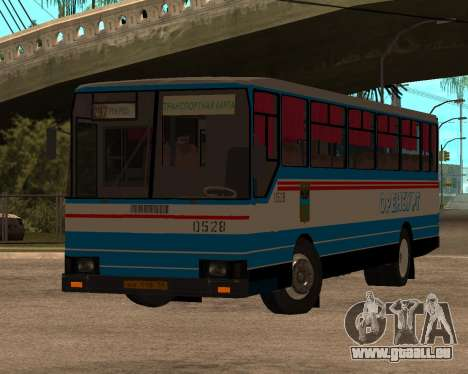 Autosan H10-11B full Orenburg stickers pour GTA San Andreas