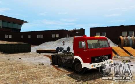 KAMAZ 54115 pour GTA 4 Vue arrière
