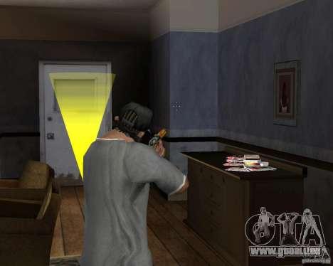 Fusil de chasse M511 pour GTA San Andreas troisième écran