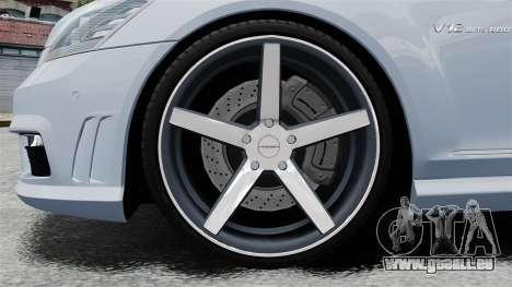 Mercedes-Benz S65 W221 Vossen v1.2 pour GTA 4 Vue arrière
