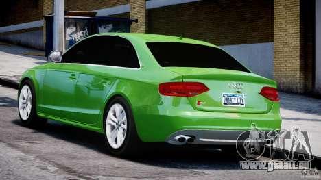 Audi S4 2010 v1.0 für GTA 4 hinten links Ansicht