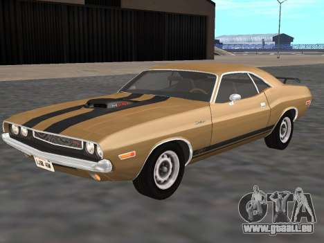 Dodge Challenger 440 Six Pack 1970 pour GTA San Andreas