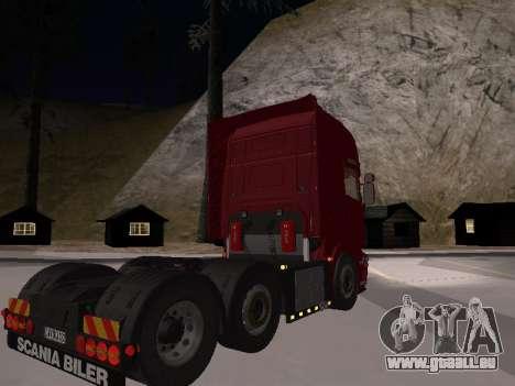 Scania 460 pour GTA San Andreas laissé vue