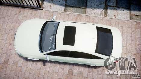 Audi RS6 2010 für GTA 4 rechte Ansicht