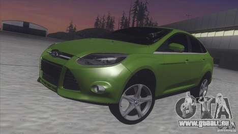 Ford Focus sedan für GTA San Andreas