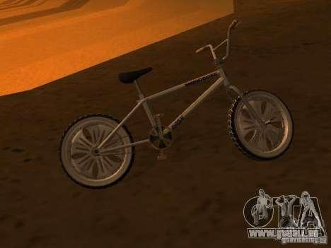 New Bmx für GTA San Andreas Rückansicht