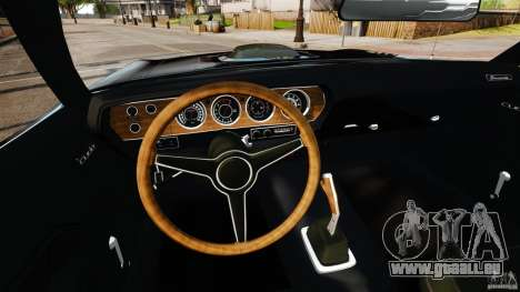 Plymouth Cuda 1971 [EPM] Mopar pour GTA 4 Vue arrière