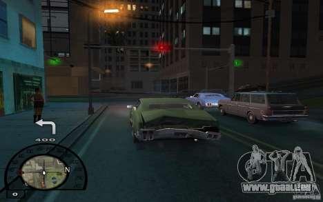 Navigateur GPS avec voix pour GTA San Andreas