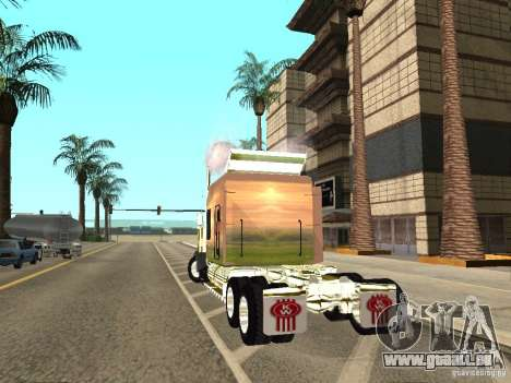 Kenworth W900 für GTA San Andreas linke Ansicht