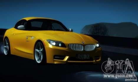 BMW Z4 Stock 2010 für GTA San Andreas Seitenansicht
