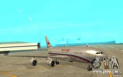 Der IL-96-300-STC-Russland für GTA San Andreas linke Ansicht
