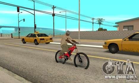 Neue BMX für GTA San Andreas rechten Ansicht