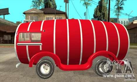 Beer Barrel Truck pour GTA San Andreas laissé vue