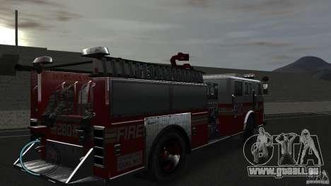 NEW Fire Truck pour GTA 4 est un droit