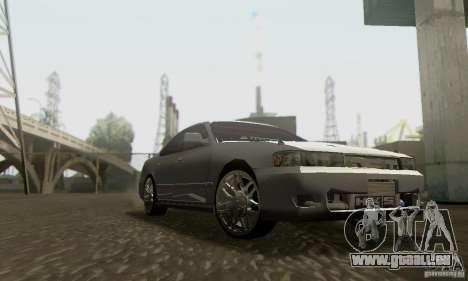 Toyota Cresta JZX90 pour GTA San Andreas vue arrière
