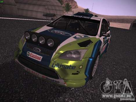 Ford Focus RS WRC 2006 pour GTA San Andreas