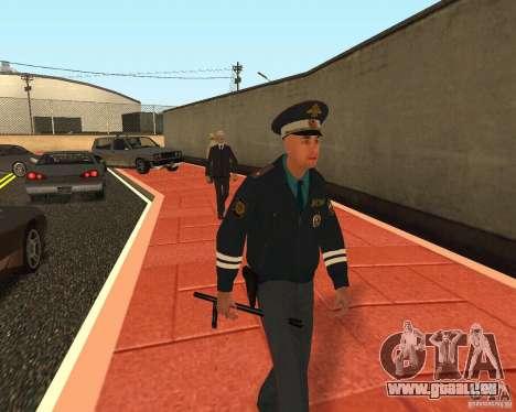 Major DPS pour GTA San Andreas quatrième écran