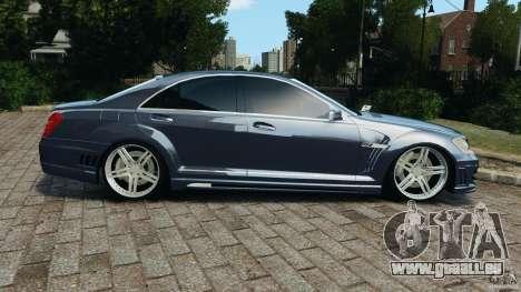 Mercedes-Benz S W221 Wald Black Bison Edition für GTA 4 linke Ansicht