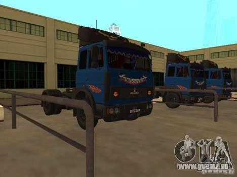 MAZ 5432 YAMZ-238 b 4 x 2 pour GTA San Andreas