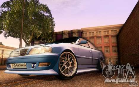 Toyota Chaser JZX100 pour GTA San Andreas salon