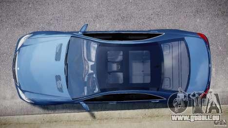 Mercedes-Benz S63 AMG [Final] pour GTA 4 est une vue de l'intérieur