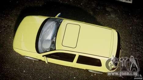 Volkswagen Golf IV R32 für GTA 4 Rückansicht