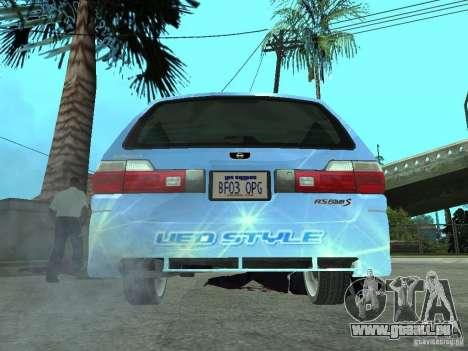 Nissan Stagea 25RS four S pour GTA San Andreas sur la vue arrière gauche