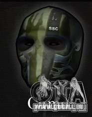 Army of Two Mask Camo pour GTA San Andreas