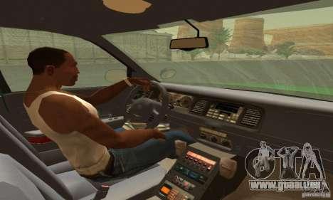 Ford Crown Victoria Vermont Police für GTA San Andreas zurück linke Ansicht