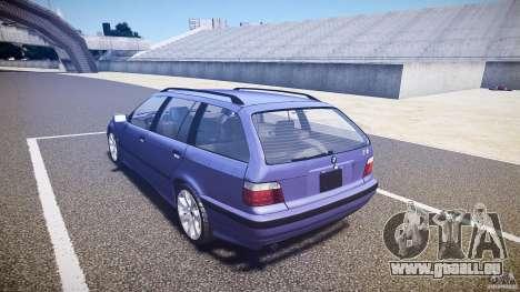 BMW 318i Touring für GTA 4 hinten links Ansicht