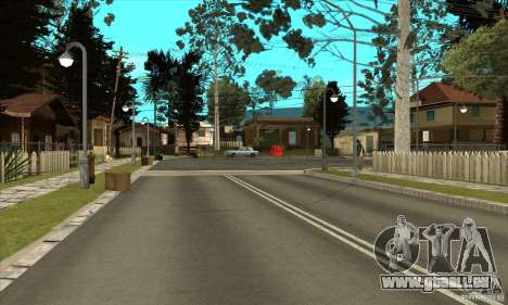 New Grove-Street pour GTA San Andreas