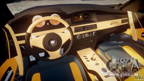 BMW M5 Lumma Tuning [BETA] pour GTA 4 Vue arrière