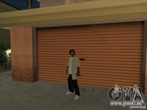 Snoop Dogg Ped für GTA San Andreas zweiten Screenshot